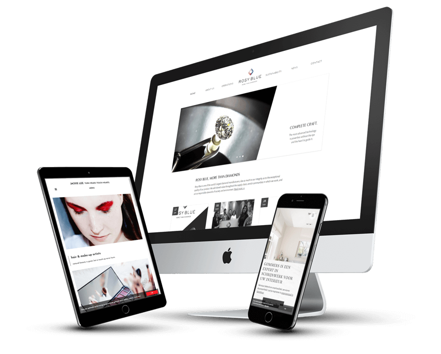 Webdesign en webdevelopment uit Antwerpen Berchem